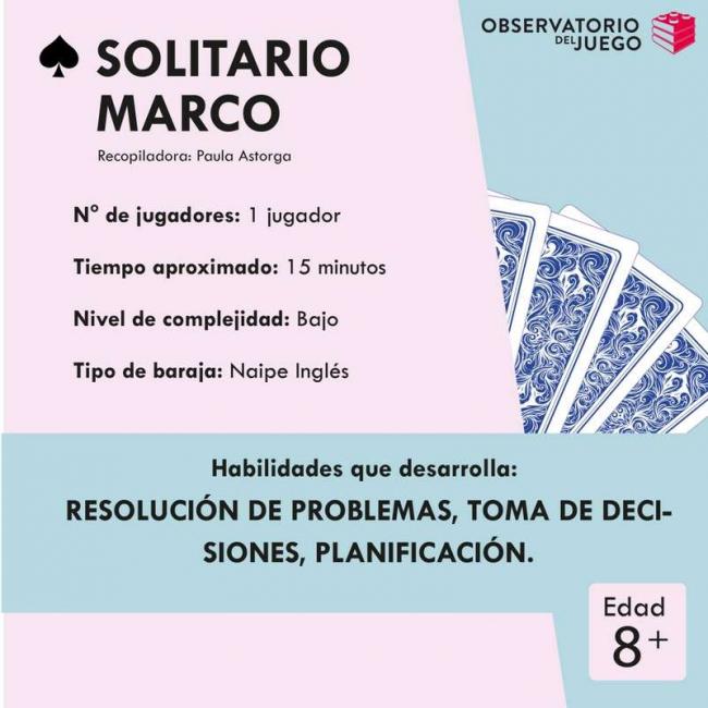 SOLITARIO MARCO